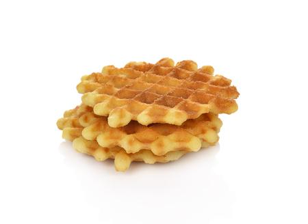 waffles isolated on white background Фото со стока - 89720212