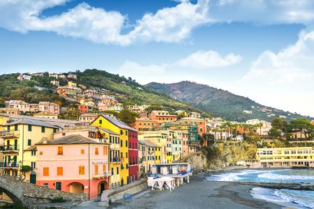 Bogliasco - fishermen's Village of the Ligurian Riviera