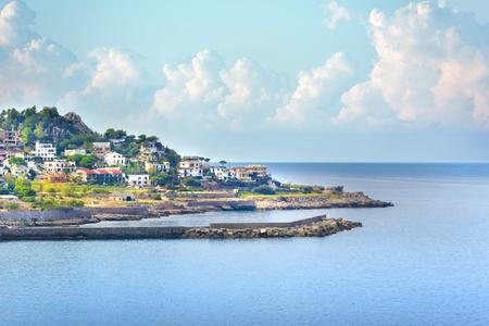 Coastline of Palermo, Sicily, Italy