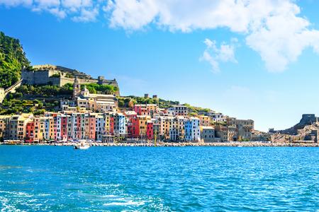 Portovenere at the italian Riviera in Liguria