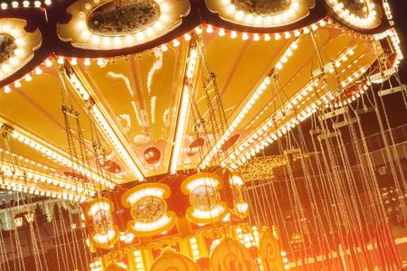 Glow in the dark carousel
