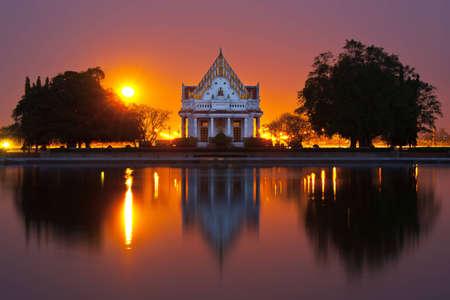 chastity: Buddhist park in the Phutthamonthon district,Buddha Monthon. Stock Photo