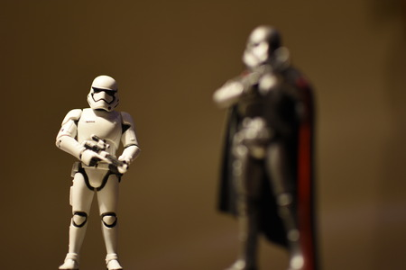 solder: captain phasma With His Solder