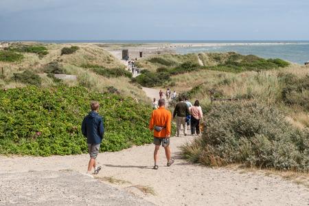 Summer trip around the peninsula of Jutland, Denmark