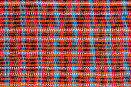 Colorful scott and line fabric texture  photo
