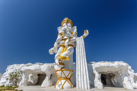 Khonkaen Thailand - 1 March 2017 - Devalai Shiva Mahadev, Hindu God Ganesha Lord of Success