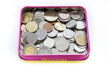 2 5: Coins baht thai 0.50,1,2,5,10 Stock Photo