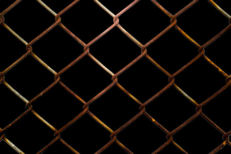 enclose: wire mesh material made of a network of wire or thread.