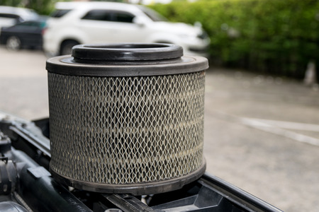 replaced: The old car air filters and must be replaced.