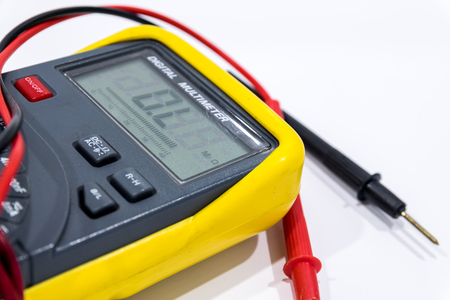 ampere: Digital multimeter is a necessary measure in electrical and electronic unit.