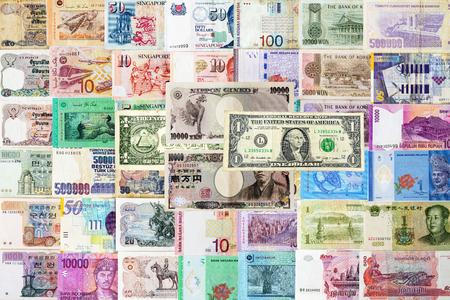 inter: Inter national moneys textuer background.