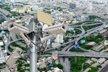 closed circuit television: Tough cameras can record events such as traffic, accidents. And also prevent the thief.