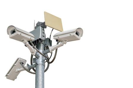 Caméras difficiles peuvent enregistrer des événements tels que le trafic, les accidents. Et également empêcher le voleur. Banque d'images - 48715715