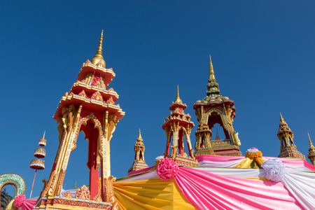 buddhist temple roof: Roof Buddhist temple in Thailand.