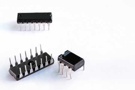 Ic: IC ,integrated circuit  is the key equipment in the electronic circuit.