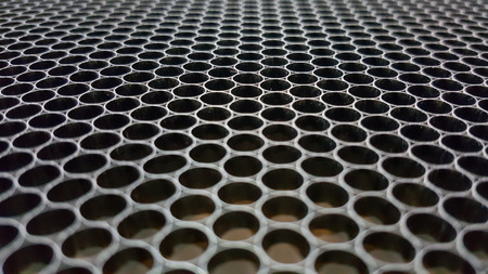 aluminium texture: Aluminium wire mesh material texture background. Stock Photo