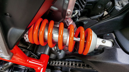 especially: Motorcycle shock absorbers a device for absorbing jolts and vibrations, especially on a motor vehicle.