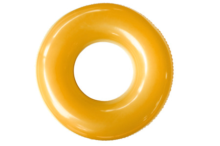 derived: The swim ring was derived from the inner tube, the inner, enclosed, inflatable part of older vehicle tires.