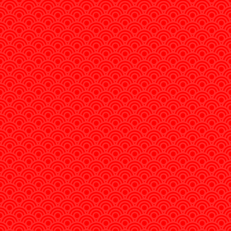 Vector illustration graphic design of red seamless pattern background concept for Chinese new year.