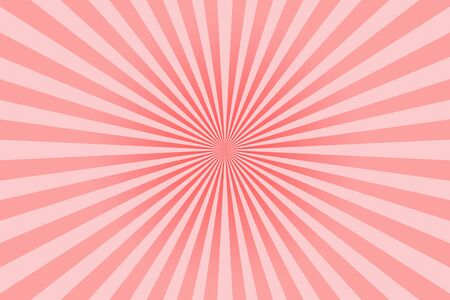 Pink pastel colors rays abstract background, can use for test the resolution and focus of cameras Stock Photo
