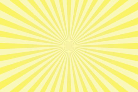 Yellow pastel colors rays abstract background, can use for test the resolution and focus of cameras Stock Photo