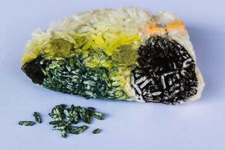 fungi: Fungi on sticky rice.