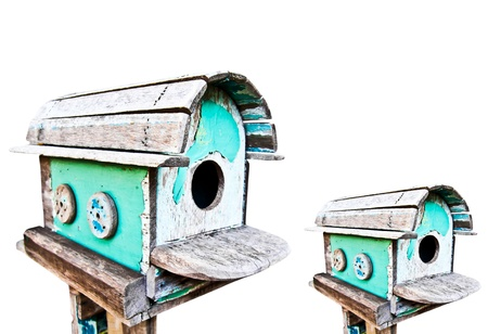 Bird House Isolated photo