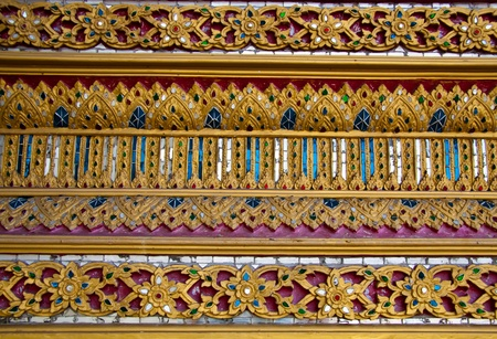 thai motifs: Thai Motifs Texture Stock Photo