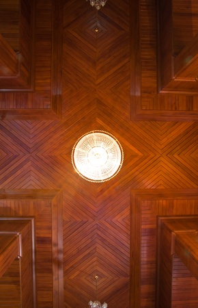 Teak wood Ceiling photo