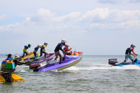 HuaHin Jet Ski Racing Championships on June 24, 2012