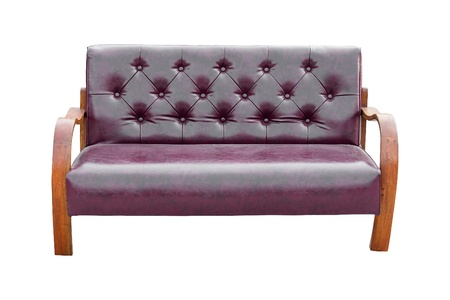 Vintage Sofa On White Background Stock Photo Picture And Royalty