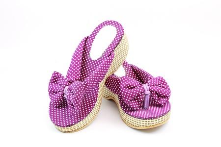 Women shoes isolated on white background Stock Photo - 15401741