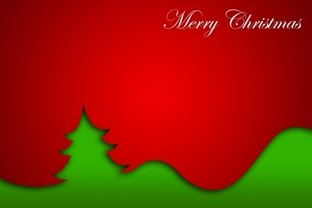 Christmas Greeting Card, Merry Christmas lettering Stock Photo - 16507955