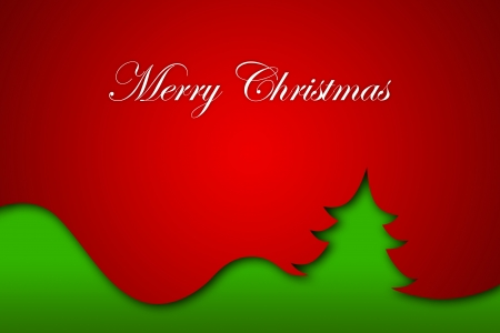 Christmas Greeting Card, Merry Christmas lettering Stock Photo - 16507959