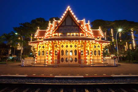 An image of the Hua Hin train station in Thailand Stock Photo - 17091978
