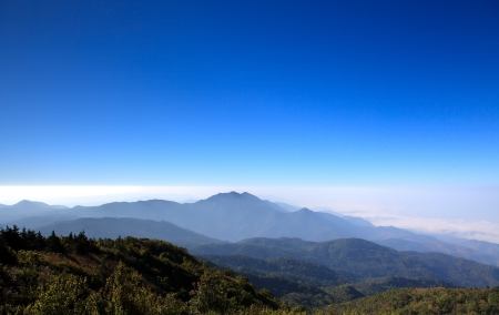 Doi Inthanon national park, ChiangMai, Thailand photo