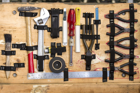 Large Collection Of Used Tools of engineering