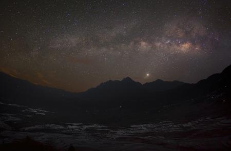 Milky way in Yuanyang - China  photo