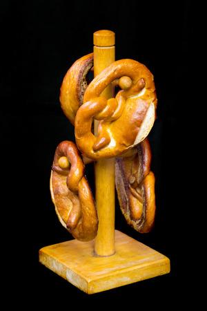 Bakery Bread on wood hanger photo