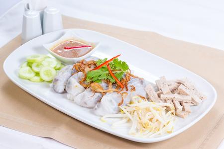 steamed rice skin dumpling vietnam style
