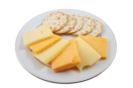 Käse und Cracker anyone? Standard-Bild - 770345