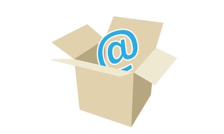 inboxs Stock Vector - 15841936