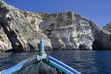 On the way to the Blue Grotto photo