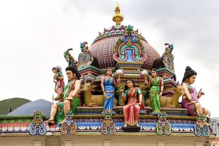 buddhismus: Hindu Temple in Singapore