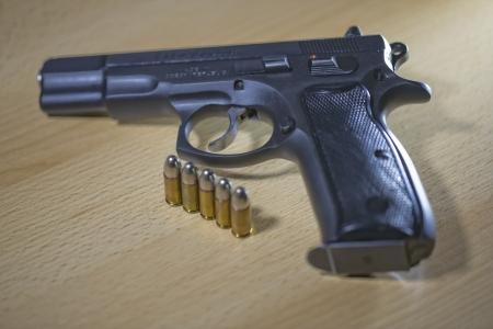 Pistole Revolver Gun Stock Photo - 17151548
