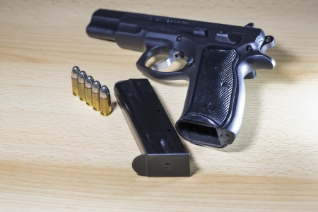 Pistole Revolver Gun Stock Photo - 17151562