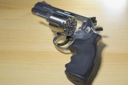 Pistole Revolver Gun Stock Photo - 17152834