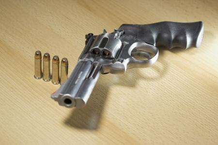 Pistole Revolver Gun Stock Photo - 17152833