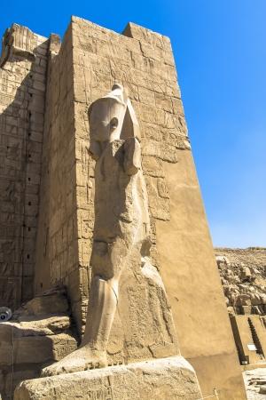Amun Re and Amunet Dyad statue  Karnak Temple, Luxor, Egypt
