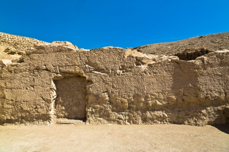 cheops: Egypt Valley of the tombs near Luxor Stock Photo